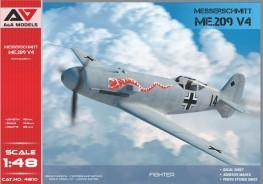 Me.209 V4  high-speed experimental prototype