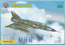 Макети  Mirage IIIE fighter-bomber